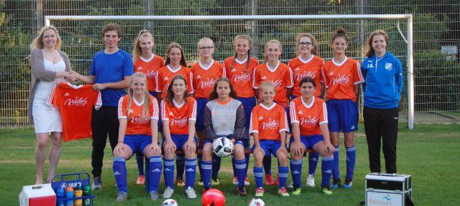 Mädchenfußball: Neues Dress für U17