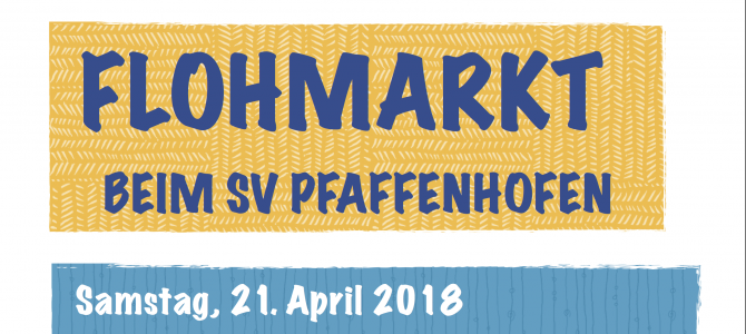NEU: Flohmarkt am Sa, 21. April 2018